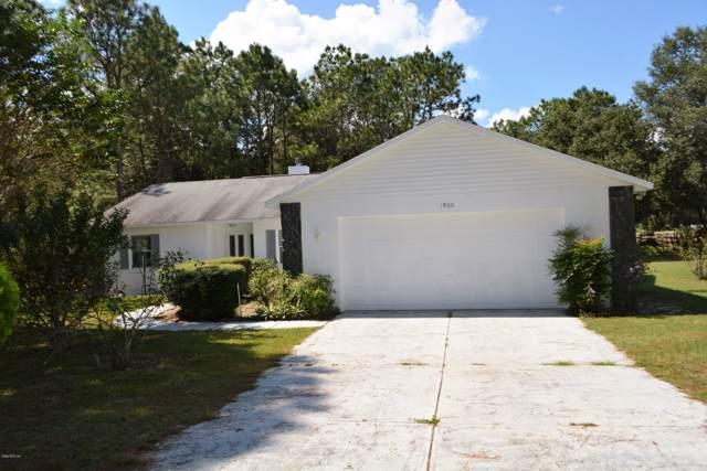 1900 NW 73rd Terrace, Ocala, FL 34482 (MLS #564054) :: Pepine Realty