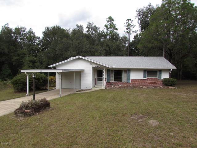 23643 SW Rainbow Lakes Boulevard, Dunnellon, FL 34431 (MLS #565603) :: Bosshardt Realty