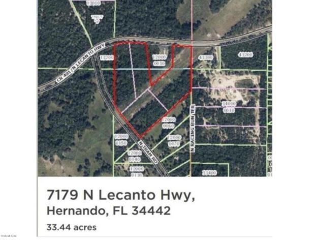 7179 N Lecanto Highway, Hernando, FL 34442 (MLS #530458) :: Bosshardt Realty