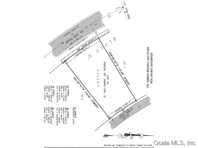 TBD SE Tbd 19 Court, Ocala, FL 34471 (MLS #441514) :: Thomas Group Realty