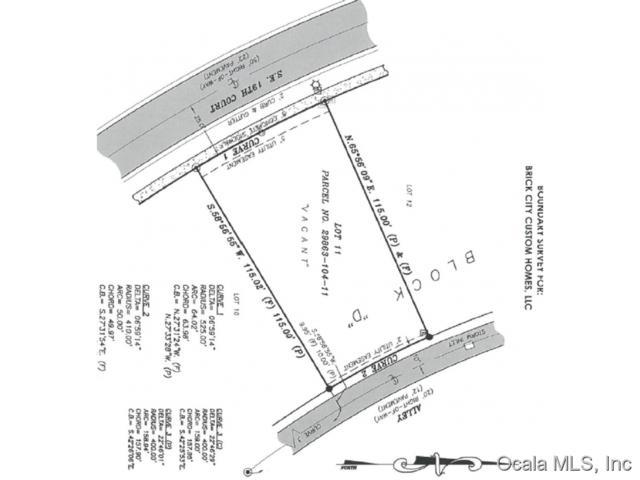 TBD SE Tbd 19 Court, Ocala, FL 34471 (MLS #441516) :: Thomas Group Realty