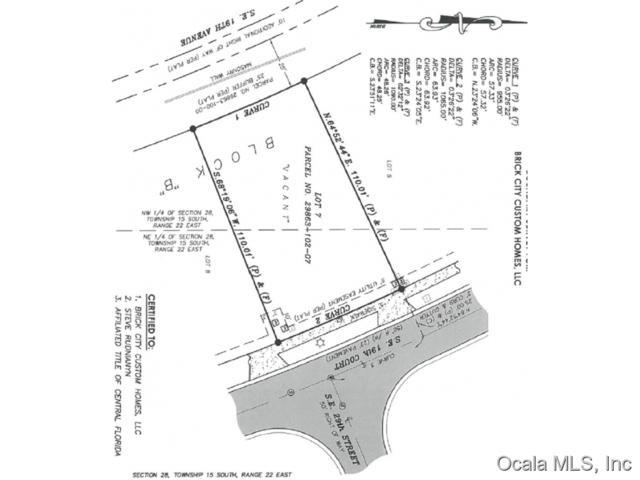 TBD SE Tbd 19 Court, Ocala, FL 34471 (MLS #441518) :: Thomas Group Realty