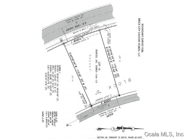 TBD SE Tbd 19 Court, Ocala, FL 34471 (MLS #441517) :: Thomas Group Realty