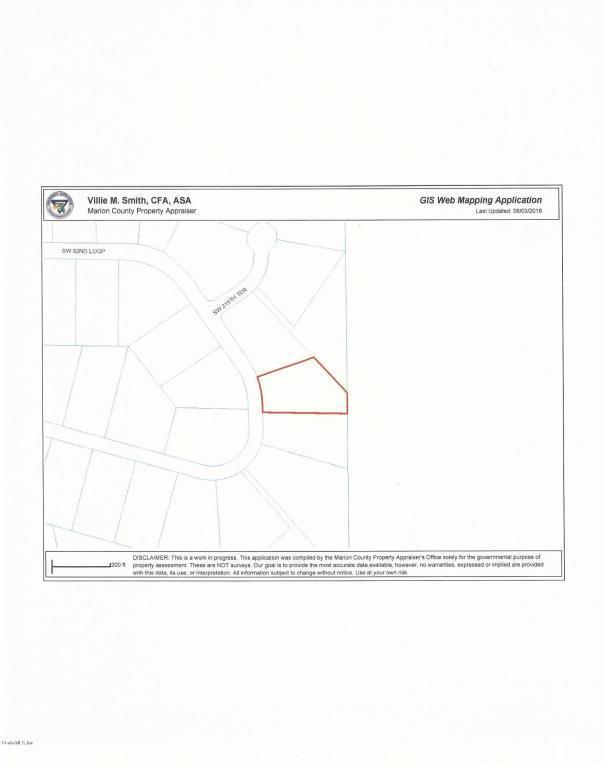 Lot 11 SW 82nd Loop, Dunnellon, FL 34431 (MLS #541392) :: Bosshardt Realty
