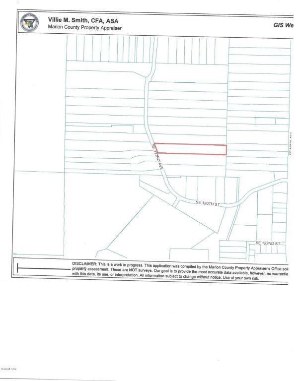 0 SE 123rd Avenue, Ocklawaha, FL 32179 (MLS #541400) :: Realty Executives Mid Florida