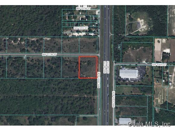 0 NW 38 Avenue, Ocala, FL 34482 (MLS #437246) :: Bosshardt Realty