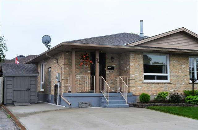 26 Rodney Crescent, St. Thomas, ON N5R 6C7 (MLS #204178) :: Sutton Group Envelope Real Estate Brokerage Inc.