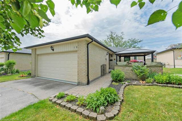 211 Pine Valley Drive #12, London, ON M6K 4W5 (MLS #215552) :: Sutton Group Envelope Real Estate Brokerage Inc.