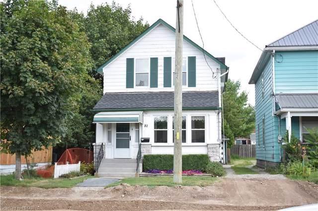81 Hughes Street, St. Thomas, ON N5P 2Y7 (MLS #216294) :: Sutton Group Envelope Real Estate Brokerage Inc.
