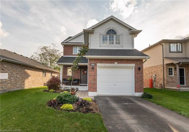 2260 Thornicroft Crescent, London, ON N6P 1T6 (MLS #226790) :: Sutton Group Envelope Real Estate Brokerage Inc.