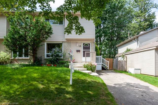 13 Ranchwood Crescent S, London, ON N6G 3A1 (MLS #227163) :: Sutton Group Envelope Real Estate Brokerage Inc.