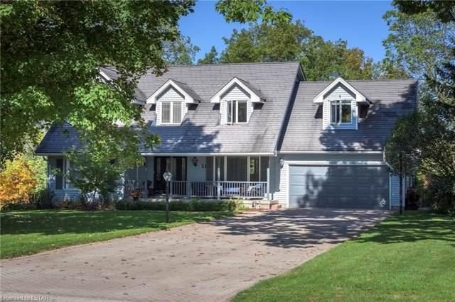 31 Pondview Court, Dorchester, ON N0L 1G2 (MLS #227715) :: Sutton Group Envelope Real Estate Brokerage Inc.