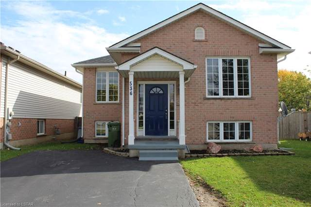 536 Highview Drive, St. Thomas, ON N5R 6G3 (MLS #229387) :: Sutton Group Envelope Real Estate Brokerage Inc.