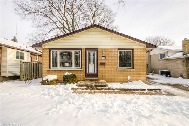 84 Wexford Avenue, London, ON N5V 1M2 (MLS #240642) :: Sutton Group Envelope Real Estate Brokerage Inc.