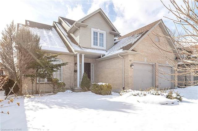 97 Mctaggart Court, London, ON N5X 3L9 (MLS #244993) :: Sutton Group Envelope Real Estate Brokerage Inc.