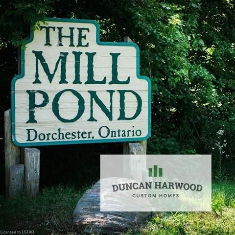 34 Millpond Crescent, Dorchester, ON N0L 1G2 (MLS #245330) :: Sutton Group Envelope Real Estate Brokerage Inc.