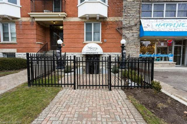 440 Wellington Street #16, London, ON N6A 3P2 (MLS #250898) :: Sutton Group Envelope Real Estate Brokerage Inc.