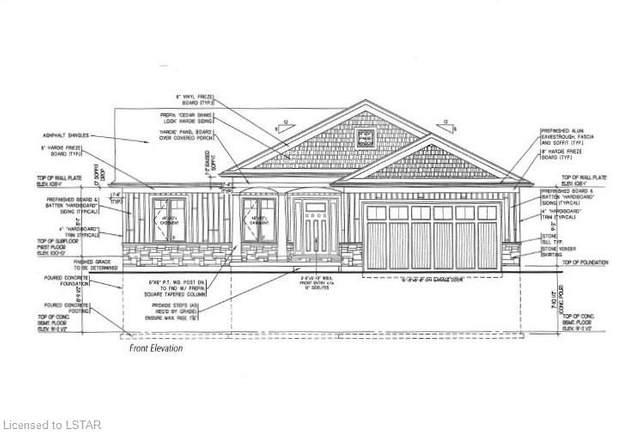 72 Deerfield (Lot 27) Road, Grand Bend, ON N0M 1T0 (MLS #252351) :: Sutton Group Envelope Real Estate Brokerage Inc.