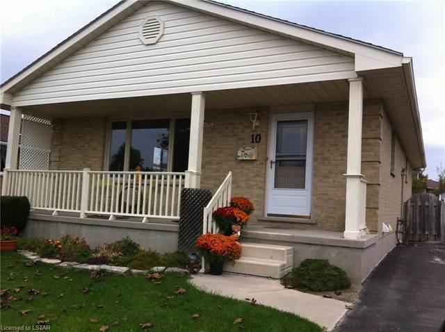 10 Rickwood Place, St. Thomas, ON N5R 5L3 (MLS #252791) :: Sutton Group Envelope Real Estate Brokerage Inc.