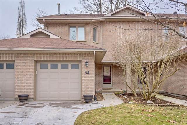 70 Glenroy Road #34, London, ON N5Z 4X1 (MLS #253422) :: Sutton Group Envelope Real Estate Brokerage Inc.