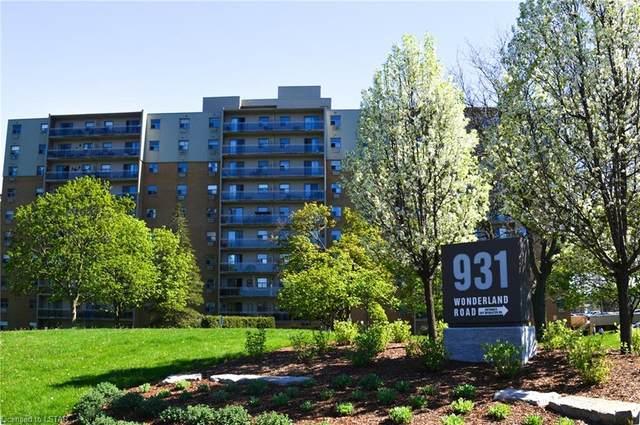 931 Wonderland Road S #906, London, ON N6K 2X6 (MLS #260836) :: Sutton Group Envelope Real Estate Brokerage Inc.