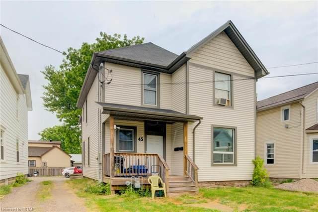 45 East Street, St. Thomas, ON N5P 2R3 (MLS #271244) :: Sutton Group Envelope Real Estate Brokerage Inc.