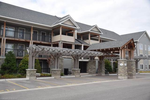 2 Cove Court #304, Collingwood, ON L9Y 0Y6 (MLS #277645) :: Forest Hill Real Estate Collingwood
