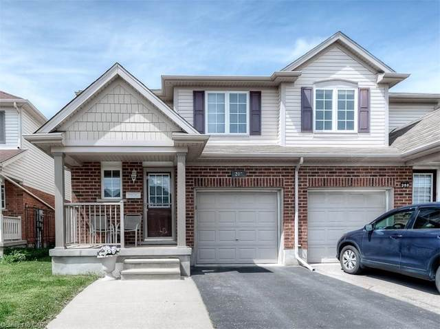 208 Max Becker Drive, Kitchener, ON N2E 4G2 (MLS #30808949) :: Forest Hill Real Estate Collingwood