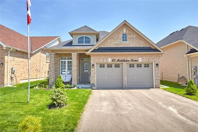 45 Middleton Drive, Wasaga Beach, ON L9Z 0G8 (MLS #30809218) :: Forest Hill Real Estate Collingwood