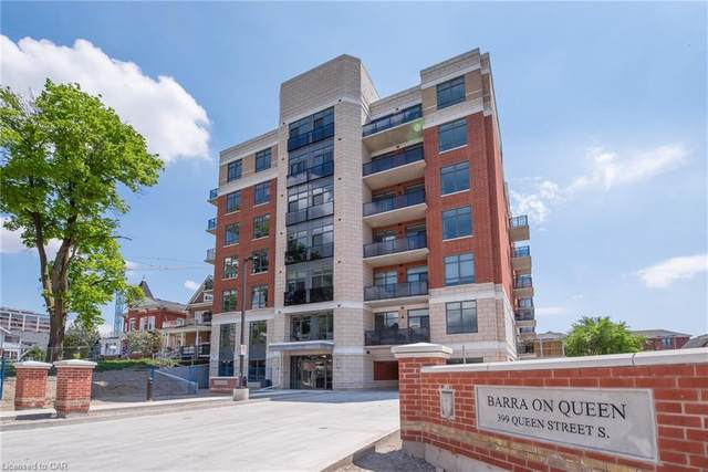 399 Queen Street #106, Kitchener, ON N2G 1W6 (MLS #30809586) :: Forest Hill Real Estate Collingwood