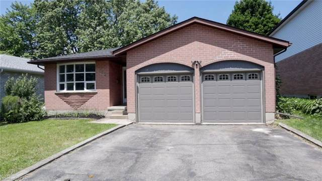 262 Tagge Crescent, Kitchener, ON N2K 3R7 (MLS #30814885) :: Forest Hill Real Estate Collingwood