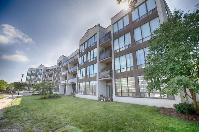 105 Bagot Street #305, Guelph, ON N1H 8H4 (MLS #30819177) :: Sutton Group Envelope Real Estate Brokerage Inc.