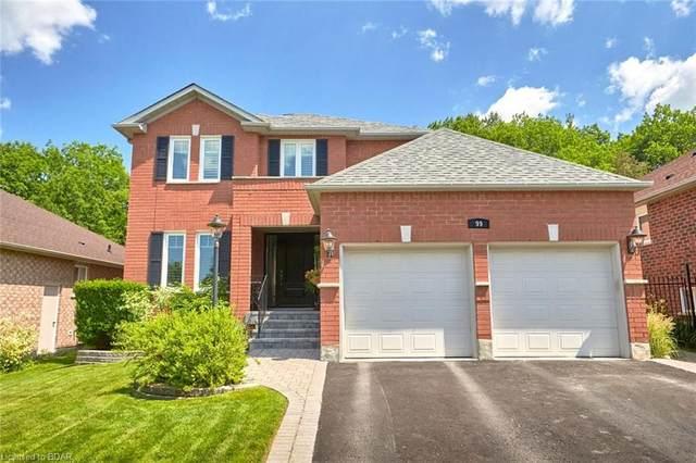 99 Crimson Ridge Road, Barrie, ON L4N 0G8 (MLS #30819242) :: Sutton Group Envelope Real Estate Brokerage Inc.