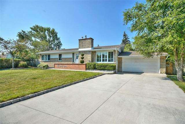 11 Rivercrest Drive, St. Catharines, ON L2T 2P3 (MLS #30819329) :: Sutton Group Envelope Real Estate Brokerage Inc.