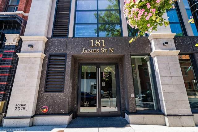 181 James Street N #201, Hamilton, ON L8R 2K9 (MLS #30825479) :: Forest Hill Real Estate Collingwood