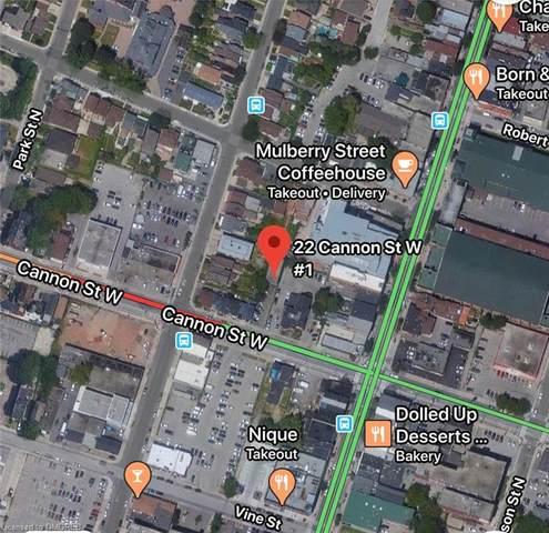 22 Cannon Street W, Hamilton, ON L8R 2B3 (MLS #40008286) :: Sutton Group Envelope Real Estate Brokerage Inc.