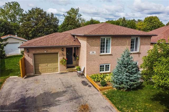 34 Griffiths Drive, Paris, ON N3L 4B7 (MLS #40020664) :: Forest Hill Real Estate Collingwood