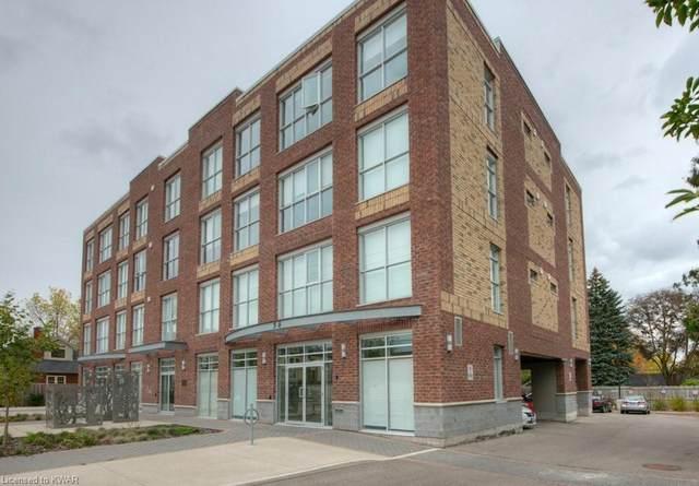 36 Regina Street #405, Waterloo, ON N2J 3A2 (MLS #40020878) :: Forest Hill Real Estate Collingwood