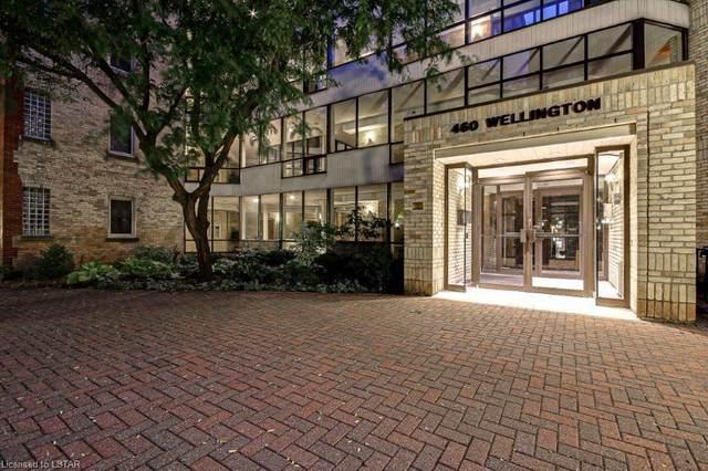 460 Wellington Street #308, London, ON N6A 3P8 (MLS #40021565) :: Sutton Group Envelope Real Estate Brokerage Inc.