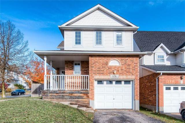 636 Columbia Forest Boulevard, Waterloo, ON N2V 2K9 (MLS #40024466) :: Forest Hill Real Estate Collingwood