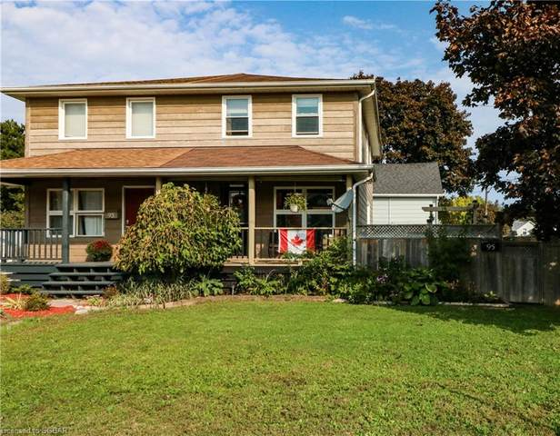 95 Fourth Street E, Collingwood, ON L9Y 1T4 (MLS #40025284) :: Forest Hill Real Estate Collingwood