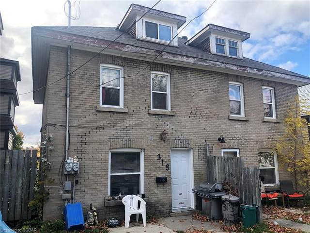 318 Queen Street, Midland, ON L4R 3H4 (MLS #40025296) :: Forest Hill Real Estate Collingwood