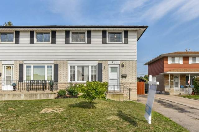 42 Thunderbird Drive, Cambridge, ON N1T 2G4 (MLS #40025568) :: Forest Hill Real Estate Collingwood