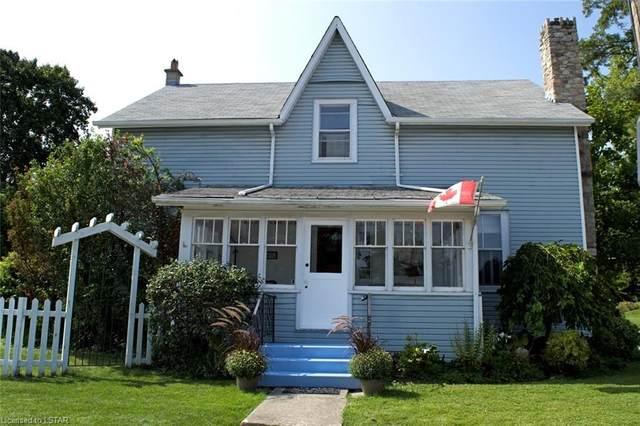 184 William Street, Port Stanley, ON N5L 1C6 (MLS #40025674) :: Forest Hill Real Estate Collingwood