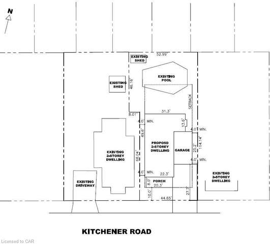 134 Kitchener Road Lot 2, Cambridge, ON N3H 1A6 (MLS #40026679) :: Forest Hill Real Estate Collingwood