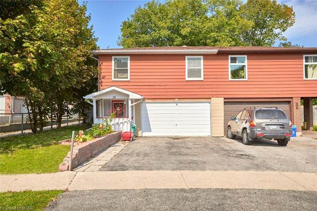 18 Ashdale Court, Barrie, ON L4M 5B5 (MLS #40026961) :: Forest Hill Real Estate Collingwood