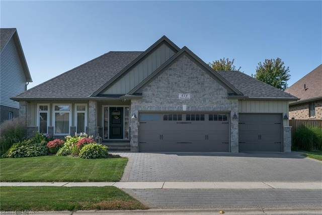 414 Darcy Drive, Strathroy, ON N7G 0A4 (MLS #40027165) :: Forest Hill Real Estate Collingwood