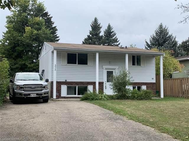 373 Heritage Drive, Kitchener, ON N2B 3K9 (MLS #40027663) :: Forest Hill Real Estate Collingwood