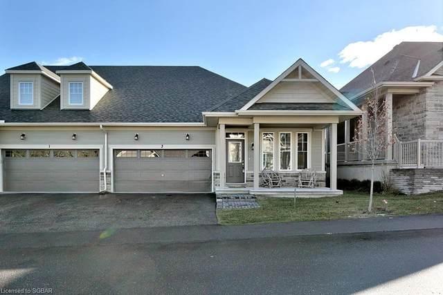 3 Kari Crescent, Collingwood, ON L9Y 0Z6 (MLS #40033844) :: Forest Hill Real Estate Collingwood