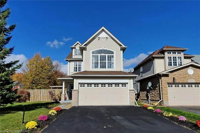 568 Brookmill Crescent, Waterloo, ON N2V 2L9 (MLS #40036415) :: Forest Hill Real Estate Collingwood